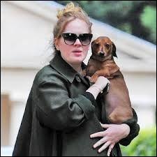 When was Adele's first child born?