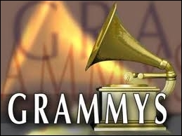 How many Grammys did Adele win in 2012, tying the record for most grammys earned in a single night with Beyonce?
