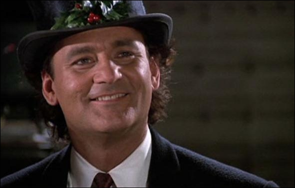 What was the name of the 1988 Bill Murray Christmas movie, loosely based on Charles Dickens 'A Christmas Carol'?