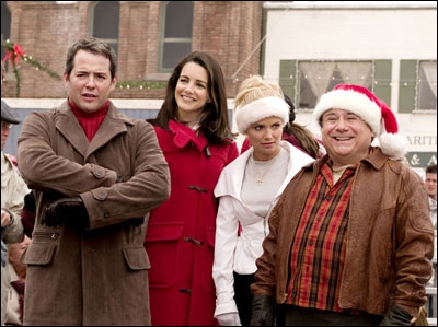 What competition did Danny Devito and Matthew Broderick compete over in 'Deck the Halls'?