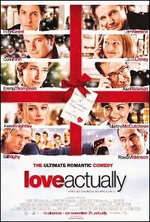 Which bombshell from the 'American Pie' franchise made a cameo in 'Love Actually'?