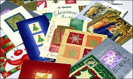 What of the following is NOT a  green  way to give christmas cards?