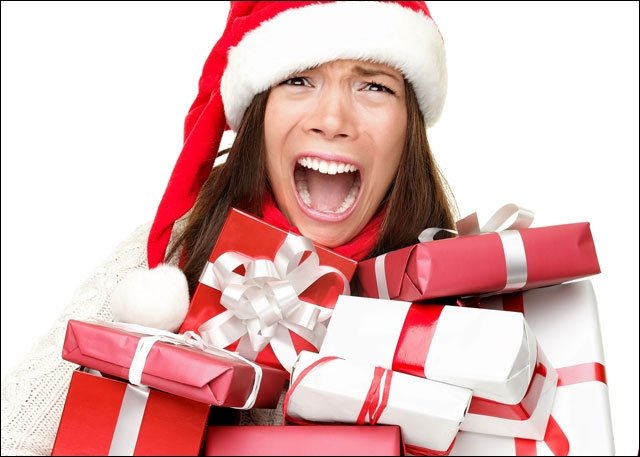 Which of the following can help reduce stress at christmas time?