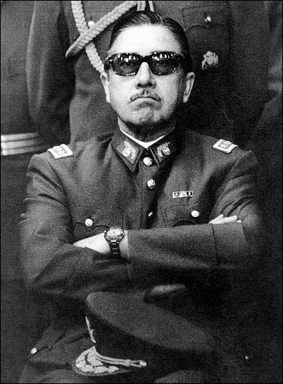 Which one of the following politicians is the Chilean general who became the military dictator of Chile on Sept. 11, 1973?