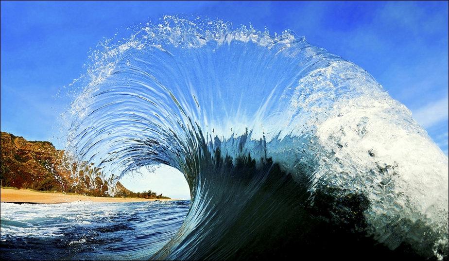 A  wave  il a synonym for flood.