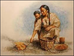 Sacagawea knew nuts, routes, berries.