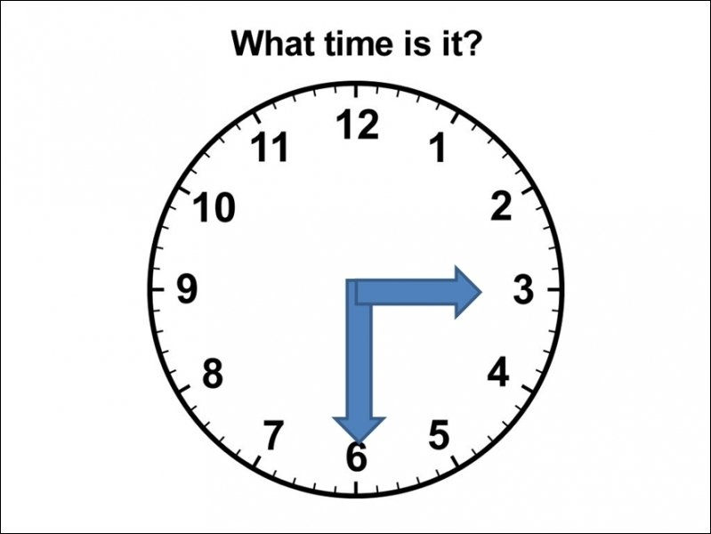 Can you tell me what time it is on the clock?