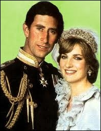 What was the date of Princess Diana's wedding with Prince Charles?