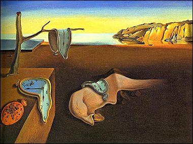 This famous Salvador Dali painting is called...