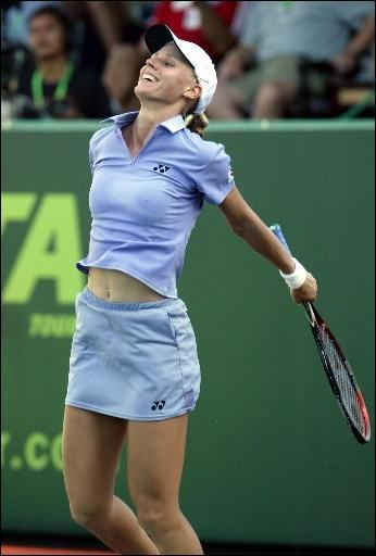 Who is this beautiful tennis woman?