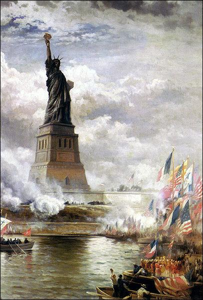 The well-known Statue of Liberty was a gift to the United States from France in 1886. What is the name of the french sculptor ?