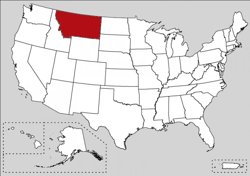 Big Sky Country, The Treasure State are my nicknames. The International Boundary is the border which cross the state and separate the US to Canada.