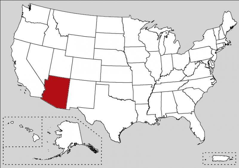 How can I speak about this state without mention the Grand Canyon ? This astonish landscape brings several millions of tourists each year.