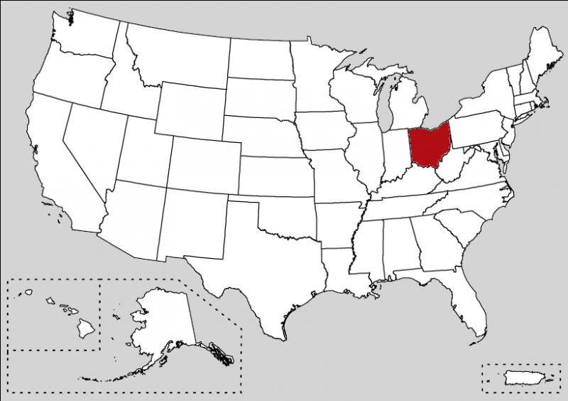 The capital of this state is Columbus but others cities like Cleveland or Cincinnati have influential economic role. This state is :