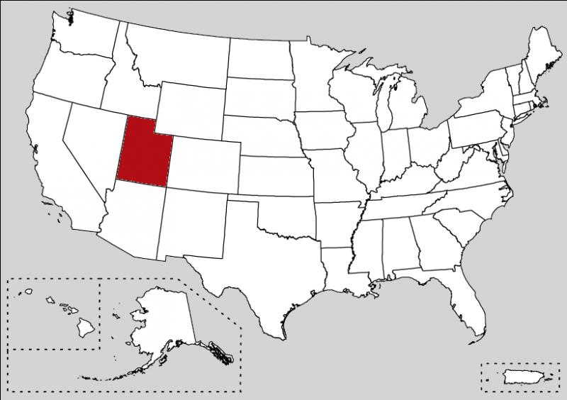 Salt Lake City hosted the 2002 Winter Olympics. What is this state ?