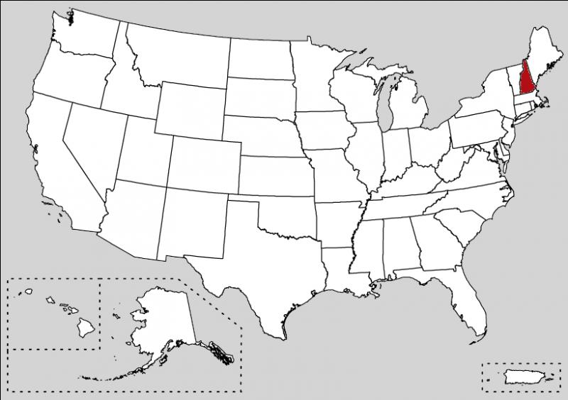 This state is located in the New England in the East Coast. Moreover, the film Jumanji (with Robin Williams) was filmed in 1995 in this small state.