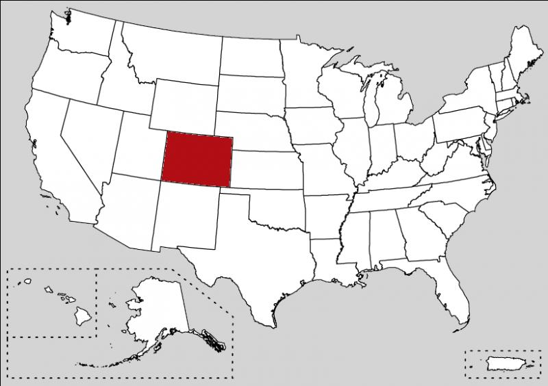 Denver is the Last Dinosaur... but also the capital of this state. A popular river has the same name of the state and is the main river of the southwestern United States.