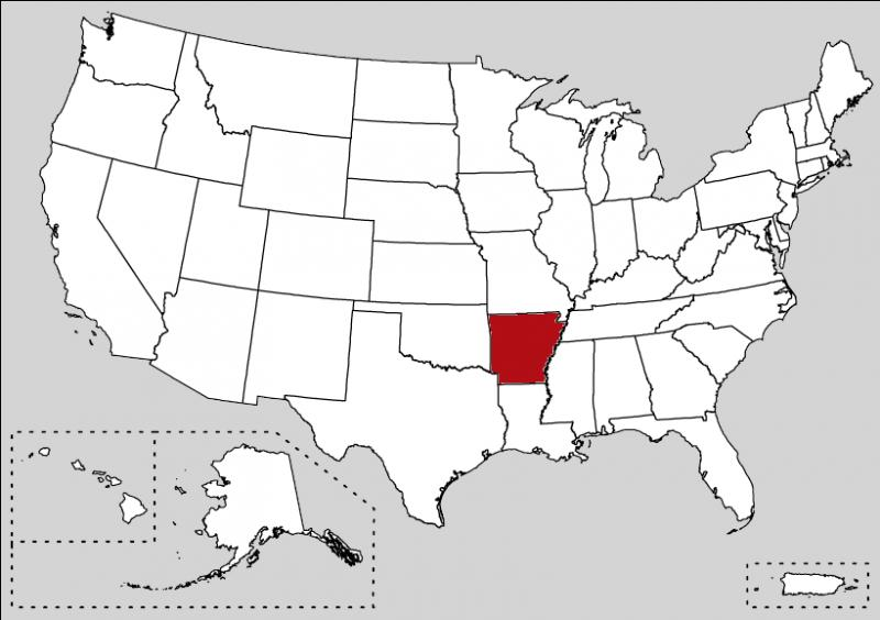 In this state, you can find the Crystal Bridges Museum of American Art at Bentonville. This state is :