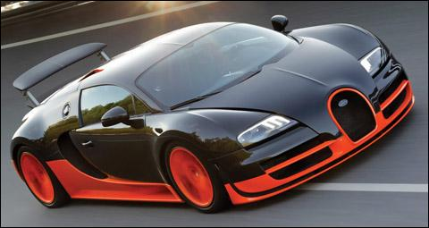How fast is the Bugatti Veyron SS?