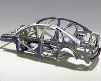 What is the chassis of a car?
