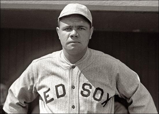 "Whose nickname in baseball was ""The Great Bambino""?"