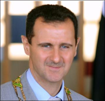 Who is the Syrian President accused of using chemical weapons on his people?