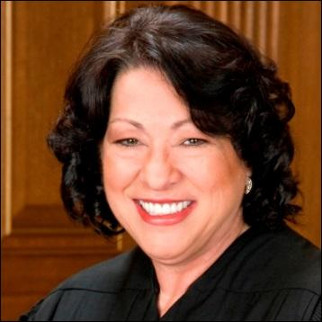 Who was the first Hispanic justice appointed to the Supreme Court?