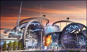 What is the theme park being built in Dubai?