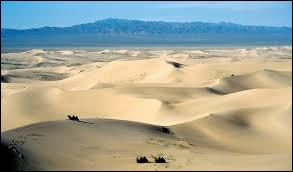 In which two countries is the Gobi Desert in?