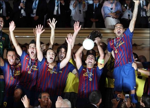 They have won the football match. The final score is 3 - 0 : three goals to ...