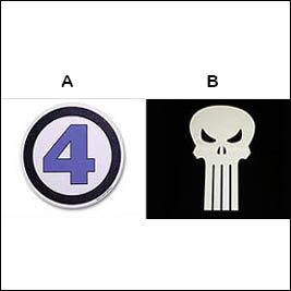 Which logo represents Fantastic four?