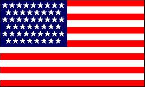 Flags and reflexion - Which flag do we have if we remove 49 of the 50 stars on the flag of the United States?