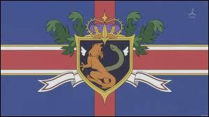 Flags and fiction - Here is the flag of Holt Empire in Britannia. According to a manga, this country is in America and invades Japan. What is name of this manga?