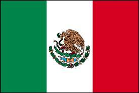Flags and animals - Which animal is visible on the flag of Mexico?