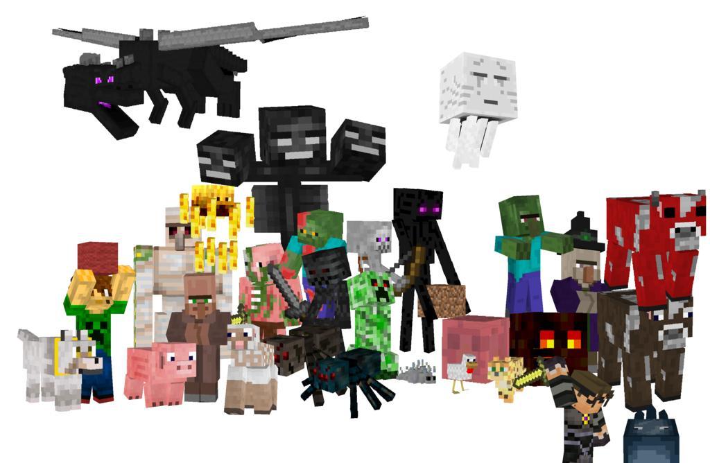 Pics Photos Re Minecraft Mobs