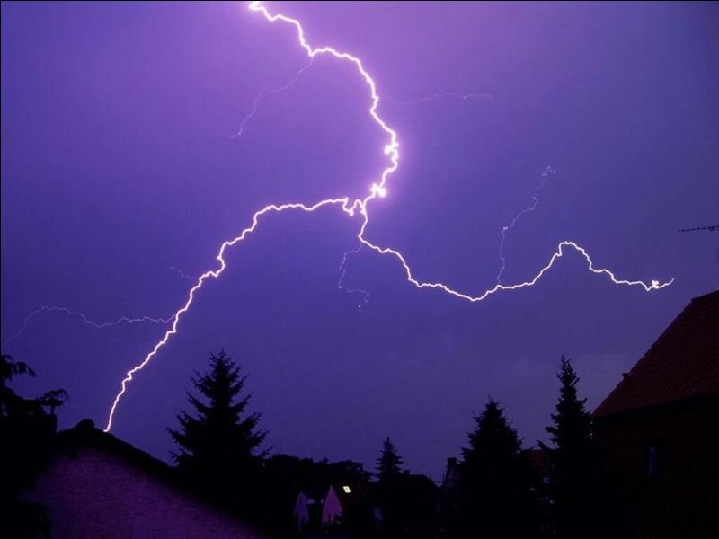 A ... is an electric discharge in the atmosphere.