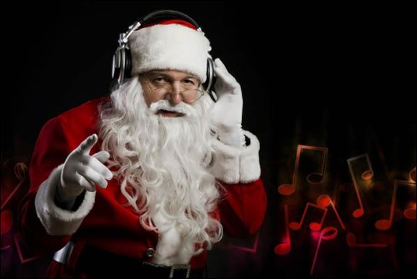 When Santa arrives to deliver presents at Analox this christmas, what should we ensure he does?