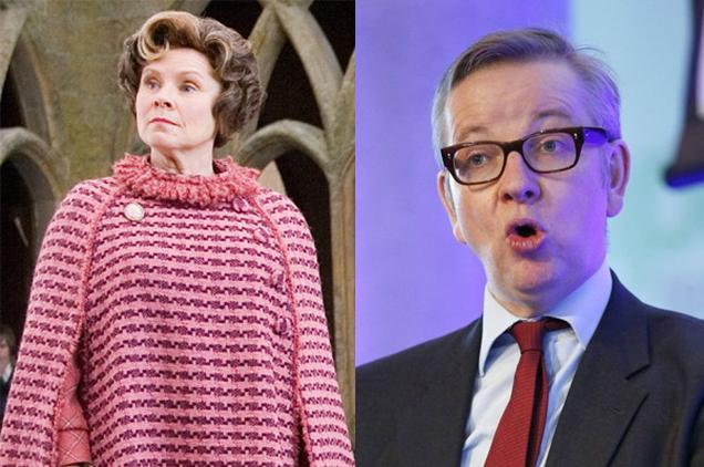 Michael Gove or Dolores Umbridge?