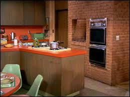 What TV show featured this mod kitchen?