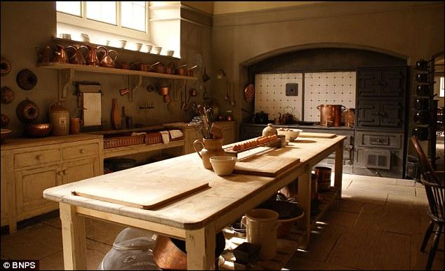 Which show's meals are prepared in this kitchen?