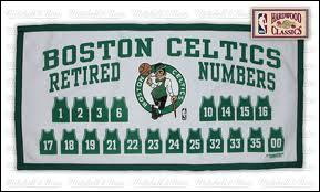 How many numbers have the celtics retired?