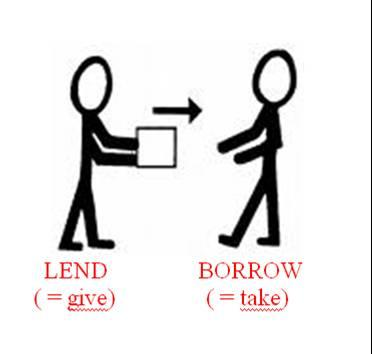 Quiz borrow vs lend quiz english Borrowing money to build a house