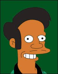 What is the name of Apu's store?