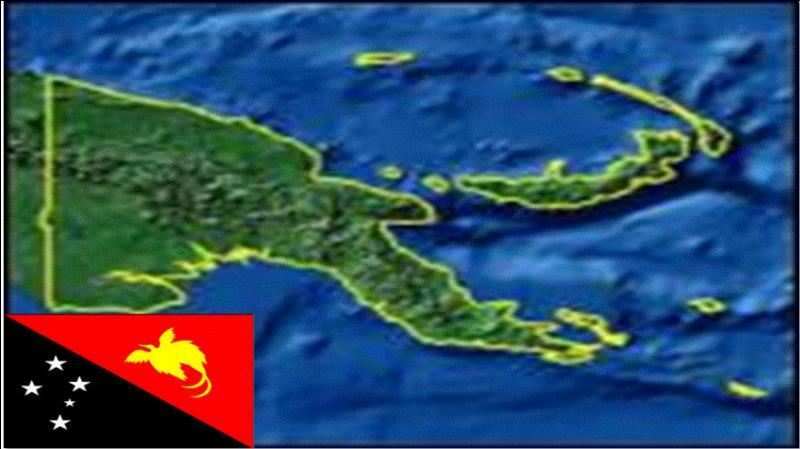 Papua New-Guinea is a country of the Pacific Ocean which shares an island with Indonesia. What is the name of this island ?