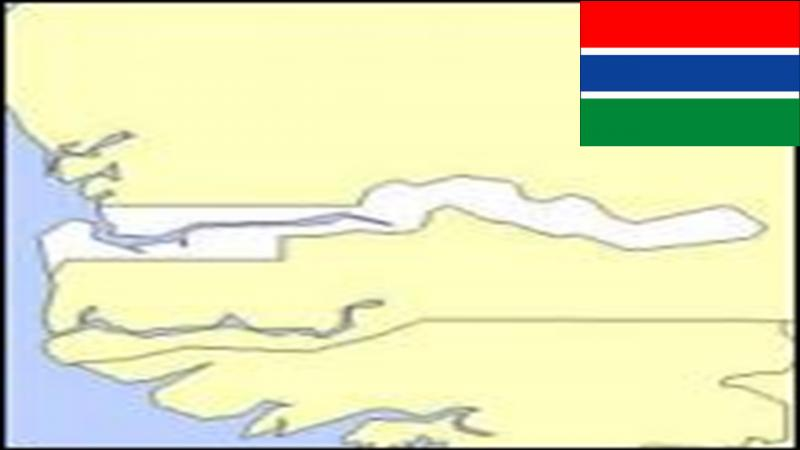 Gambia is an African country surrounded by Senegal. Which of these propositions is a Gambian city?