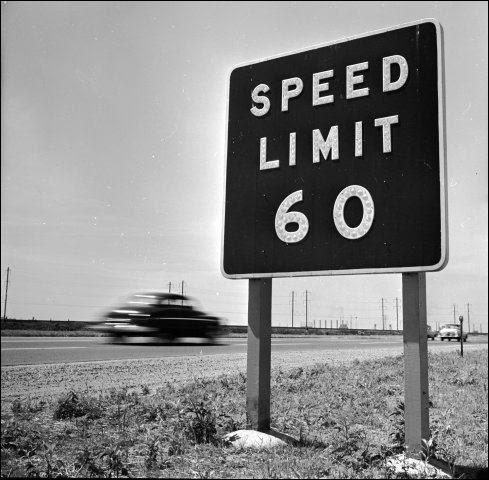 No vehicle without a driver may exceed 60 miles per hour.