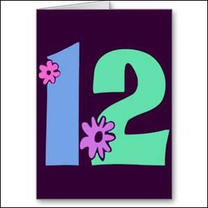 What is 12 times 12?