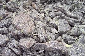 What is depositional material?