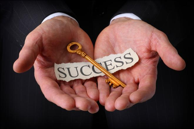 Why is it that some people can ____ a success of their business?