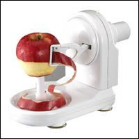 I've just discovered that we can use a machine to ... apples.